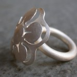 Bloom – ring – zilver – 33x30x30 mm